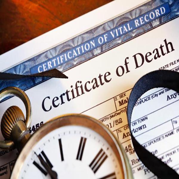 Certificate-of-Death